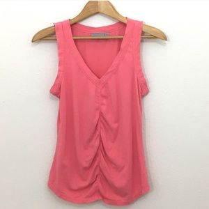 Athleta seamless run tank pink size small